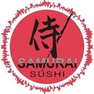 samurai sushi logo