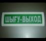 Табло Янтарь с ШЫГУ-EXIT